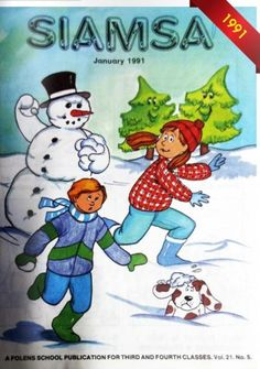 Siamsa This Christmas annual was a must have in Irish classrooms! Right In The Childhood, Notes To Parents, Merry Little Christmas, 40 Years, Grinch, Smurfs, Nostalgia, Retro, Disney Characters