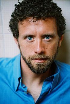 T.J. Thyne/Hogins from Bones....seriously he has the most beautiful eyes ever!