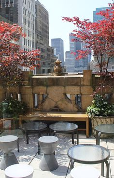 library rooftop #travel #nyc