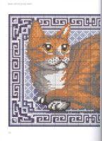 Gallery.ru / Фото #109 - JH_Needlepoint_Cats - Los-ku-tik