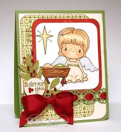 Beautiful card by Pattie Goldman.