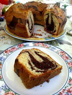 Κέικ μαμπρέ !!! ~ ΜΑΓΕΙΡΙΚΗ ΚΑΙ ΣΥΝΤΑΓΕΣ 2 Cakes Originales, Greek Desserts, Strawberry Cake Recipes, Food Gallery, Snap Food, Biscuit Cake, Macaron Recipe, Marble Cake, New Cake