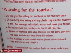 Lost in translation...