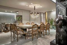 Construindo Minha Casa Clean: Decoração de um Apartamento Luxuoso em Preto e Dourado!