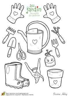 backyard designs – Gardening Ideas, Tips & Techniques Coloring Sheets For Kids, Colouring Pages, Coloring Books, Spring Activities, Activities For Kids, Diy For Kids, Crafts For Kids, Daycare Themes, Kids Room Wallpaper