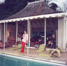 Babe Paley  Slim Aarons Round Hill
