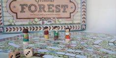 Student: Grimm's Forest - The Dieline - Games Box, Board Games, Forest Games, Board Game Design, Book Format, Creativity And Innovation, Game Pieces, Grimm, Teaching Kids