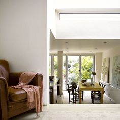 Lowered kitchen extension | Modern kitchen extensions - our pick of the best | housetohome.co.uk