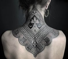 ornamental henna #tattoo