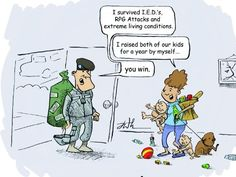 Deployment Cartoon @Jenni Holtman....I am sure you can appreciate this!! You amaze me!!