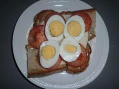 Pequenos almoços e lanches Eggs, Breakfast, Food, Bon Appetit, Box Lunches, Ideas, Meal, Egg, Eten