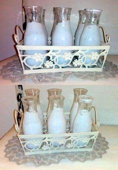porta latte decorativo