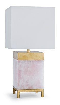 Regina Andrew Design - Jillian Lamp in Rose Quartz - 44-11-0285