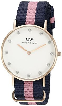 Daniel Wellington Women's 0952DW Classy Winchester Rose Gold-Tone Watch with Pink and Navy Band Daniel Wellington http://www.amazon.com/dp/B00PHDQPGI/ref=cm_sw_r_pi_dp_Rwh2wb0T2DHJ3