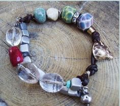 Year of the Rat Bracelet by KarenGilbertDesigns on Etsy