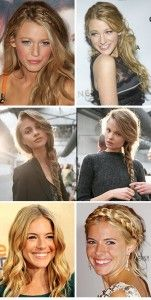 Sarah and Kels could do fun braid variations. Cody could even to a small braid with his long hair :-)