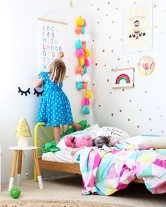 alphabet chart for kids   bedroom decor and wall art prints for children and toddlers   decor for little ones