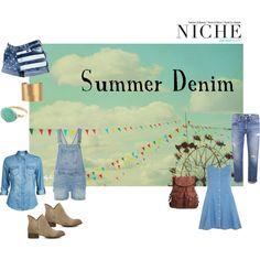 """""""Summer Denim"""" by niche-magazine on Polyvore"""