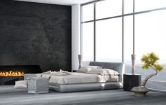 Dormitorio minimalista40