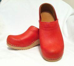 Red Dansko Clogs - Professional Clogs