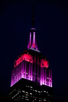 February 14, 2013 - To celebrate Valentine's Day our lights will shine in shades of pink and red as we celebrate this day of love with romantics around the world.