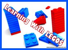 Kathys Cluttered Mind: FreeBEE Fridays - FREE LEGO Learning Resources