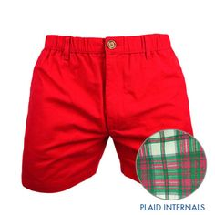 The Cliffords | Chubbies Men's Red Plaid Shorts