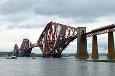 The Forth Railway Bridge from Scotland is currently featuring the world's second-longest single span