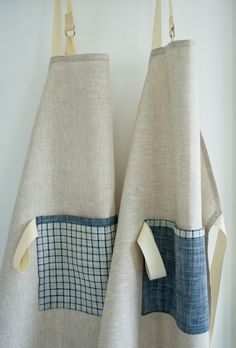 Molly's Sketchbook: Simple Linen Apron - The Purl Bee