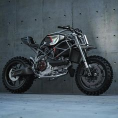 Ducati 749 Scrambler by Ziggy Moto