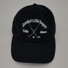 67b961dda9b20 Personalized Hats - Little Bogeys Perfect for any golfer Dad