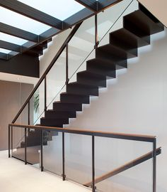 I like this for 2nd to 3rd floor Open stairs - John Maniscalco Architecture