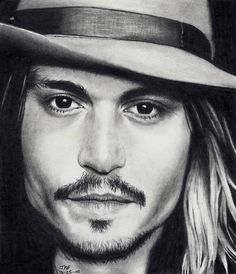 Johnny Depp - as Self by Doctor-Pencil on DeviantArt