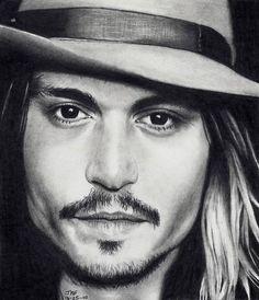 Johnny Depp - as Self by Doctor-Pencil on DeviantArt