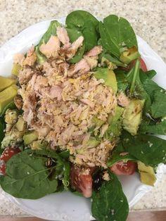 Yummy & healthy salad  in between holiday feasting.