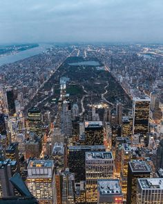 Central Park, Love Flying Over New York by @copterpilot