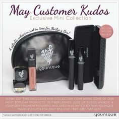 These are great deals that Younique offers monthly.