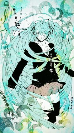 Hatsune Miku Hatsune Miku- Rolling Girl-One of the masterpieces of Vocaloid. Why can't English-speaking songwriters get off their butts and write songs like this? Hatsune Miku, Aoki Lapis, Gakupo Kamui, Rolling Girl, Kagamine Rin And Len, Miku Chan, Sad Anime Quotes, Chica Anime Manga, The Masterpiece