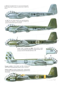Junkers Ju 388 | WW2 plane paintschemes | Pinterest ...