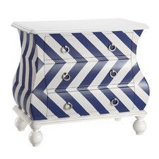 Gorgeous Bombe - perfect for a nautical themed room