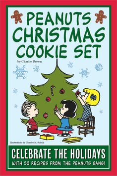 Peanuts Christmas Cookie Set: Celebrate The Holidays With 50 Recipes From the Peanuts Gang: Charlie Brown: 9781604334401: Amazon.com: Books