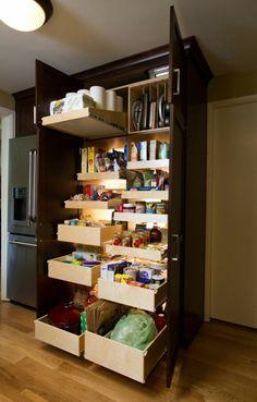 Best ideas how to organized kitchen storage 41 Apartment Hacks, Apartment Ideas