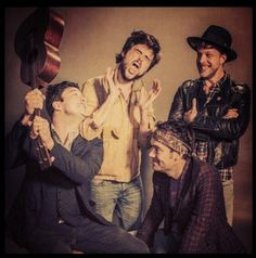 Mumford and sons hard core band crush <3