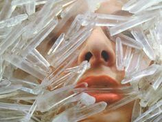 Crystals....marina abramovic