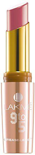 Lakme 9 To 5 Creaseless Crème Lipstick, Coral Case, 3.6g