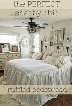 Ruffled Bed Linens
