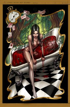 Zenescope alice image by ZenescopeComics on Photobucket