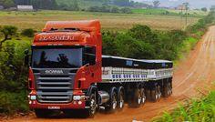 Scania R500 in Brazil