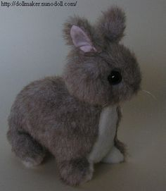 I've already got 2 rabbit patterns... but this one is awefully cute, especially for a short-eared bunny.