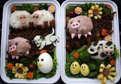 De boerderij als lunch? Eetschrijven: augustus 2009